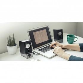 Edifier Multimedia Speaker Stereo 2.0 4W USB Sound Card - R19U - Black - 8