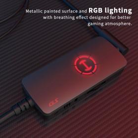 Edifier HACATE USB Sound Card External 7.1 Channel Audio Microphone 3.5mm - GS02 - Black - 5