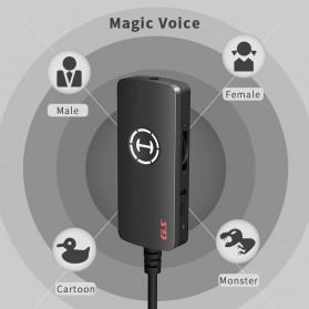 Edifier HACATE USB Sound Card External 7.1 Channel Audio Microphone 3.5mm - GS02 - Black - 6