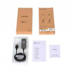 Edifier HACATE USB Sound Card External 7.1 Channel Audio Microphone 3.5mm - GS02 - Black - 9
