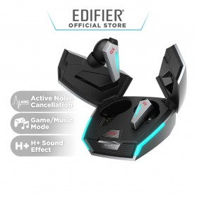 Edifier TWS Hi-Res ANC Earbuds Bluetooth 5.0 Earphone with Charging Dock - GX07 - Gray