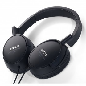 Laptop / Notebook - Edifier Headphone Monitoring Fully Enclosed Noise Isolating - H840 - Black