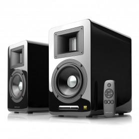 Edifier Airpulse Hi-Res Stereo Audio Bluetooth Speakers - A100 - Black