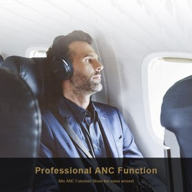 Edifier Bluetooth Headphone Headset Active Noise Cancelling - W860NB - Black - 5