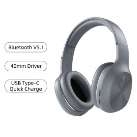 Edifier Bluetooth Headphone Headset - W600BT - Gray