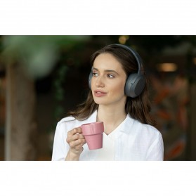 Edifier Bluetooth Headphone Headset Active Noise Cancelling - W820NB - Gray - 3