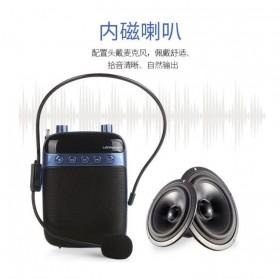 LENRUE Amplifier Penguat Suara dengan USB TF Card FM Radio - H3 - Black - 2