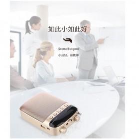 LENRUE Amplifier Penguat Suara dengan USB TF Card FM Radio - H3 - Black - 5