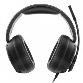 NUBWO Xiberia Gaming Headphone Headset LED 7.1 Sound Channel USB with Microphone - V20U - Black - 5
