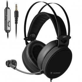 NUBWO Xiberia Gaming Headphone Headset with Microphone - N7 - Black
