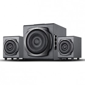 EARSON Multimedia Speaker Stereo 2.1 30W with Subwoofer - ER-2537 - Black