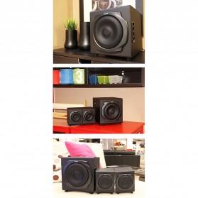 EARSON Multimedia Speaker Stereo 2.1 30W with Subwoofer - ER-2537 - Black - 4