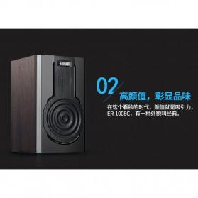 EARSON Multimedia Speaker Stereo 2.0 8W - ER-1008C - Black - 3