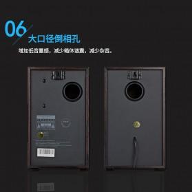 EARSON Multimedia Speaker Stereo 2.0 8W - ER-1008C - Black - 6