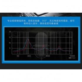 EARSON Multimedia Speaker Stereo 2.0 8W - ER-1008C - Black - 7
