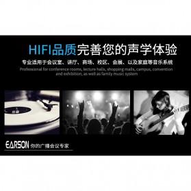 EARSON Multimedia Speaker Stereo 2.0 8W - ER-1008C - Black - 9