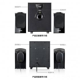 EARSON Multimedia Speaker Stereo 2.1 8W with Subwoofer - ER-2202 - Black - 2