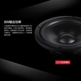 EARSON Multimedia Speaker Stereo 2.1 8W with Subwoofer - ER-2202 - Black - 4