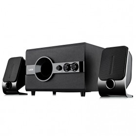 EARSON Multimedia Bluetooth Speaker Stereo 2.1 12W with Subwoofer - ER-220 - Black