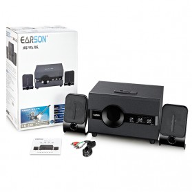 EARSON Multimedia Bluetooth Speaker Stereo 2.1 12W with Subwoofer - ER-220 - Black - 8