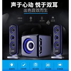 EARSON Multimedia Bluetooth Speaker Stereo 2.1 25W with Subwoofer - ER-2809 - Black - 5