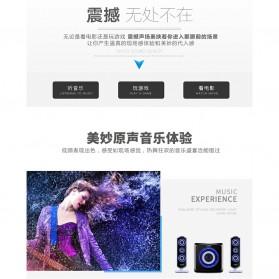 EARSON Multimedia Bluetooth Speaker Stereo 2.1 25W with Subwoofer - ER-2809 - Black - 9