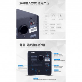 EARSON Multimedia Bluetooth Speaker Stereo 2.1 25W with Subwoofer - ER-2809 - Black - 10