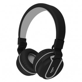 Kanen Wireless Stereo Bluetooth Headphone with Mic - BT-05 - Black