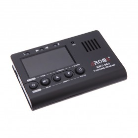 AROMA Tuner Gitar Metronome with Built-in Mic - AMT-560 - Black - 3