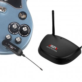 AROMA Wireless Gitar Transmitter - ARU-02 - Black