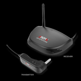 AROMA Wireless Gitar Transmitter - ARU-02 - Black - 4