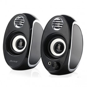 BONKS Multimedia Speaker Stereo 2.0 10W - DX18 - Black