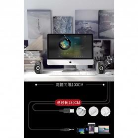 BONKS Multimedia Speaker Stereo 2.0 10W - DX18 - Black - 8