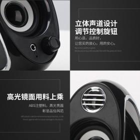BONKS Multimedia Speaker Stereo 2.0 10W - DX18 - Black - 9