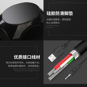 BONKS Multimedia Speaker Stereo 2.0 10W - DX18 - Black - 10