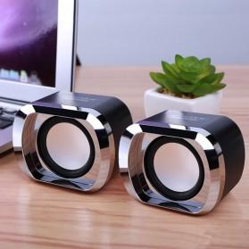 BONKS Multimedia Speaker Stereo 2.0 3W - DX12 - Black - 2