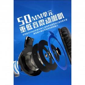 Bonks Gaming Headphone LED Deep Bass LED with Mic - G1 - Black/Blue - 4