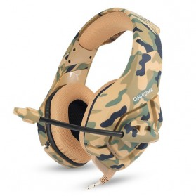 ONIKUMA Gaming Headset Super Bass with Microphone - K1-B - Yellow