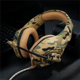 ONIKUMA Gaming Headset Super Bass with Microphone - K1-B - Yellow - 5