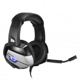 ONIKUMA Gaming Headset Super Bass LED with Microphone - K5 - Black - 2