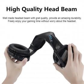 ONIKUMA Gaming Headset Super Bass LED with Microphone - K5 - Black - 5