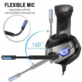 ONIKUMA Gaming Headset Super Bass LED with Microphone - K5 - Black - 6