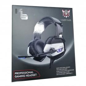 ONIKUMA Gaming Headset Super Bass LED with Microphone - K5 - Black - 11