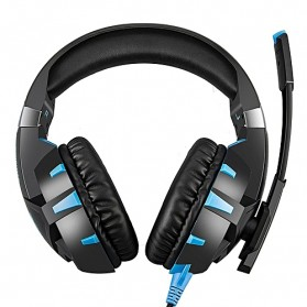 ONIKUMA Gaming Headset Super Bass LED with Microphone - K2 Pro - Black Blue - 3