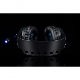 ONIKUMA Gaming Headset Super Bass LED with Microphone - K1B Pro - Black/Blue - 14