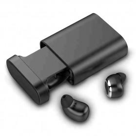Moloke Dual TWS Airpods Earphone Bluetooth dengan Charging Case - M1 - Black