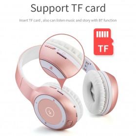 Moloke Wireless Stereo Bluetooth Headphone with Mic - T8 - Black - 3