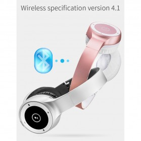 Moloke Wireless Stereo Bluetooth Headphone with Mic - T8 - Black - 4