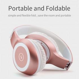 Moloke Wireless Stereo Bluetooth Headphone with Mic - T8 - Black - 6