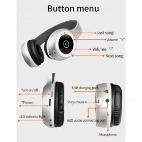Moloke Wireless Stereo Bluetooth Headphone with Mic - T8 - Black - 7